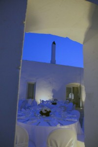 Masseria by night